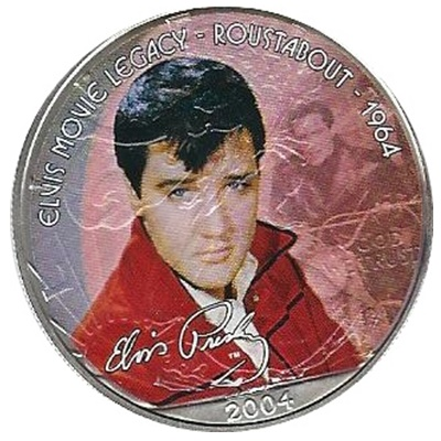 2004 1oz Silver Eagle - Elvis Movie Legacy